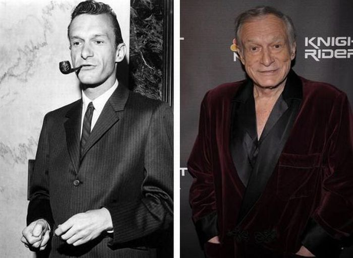 Hugh Hefner Born: April 9, 1926
